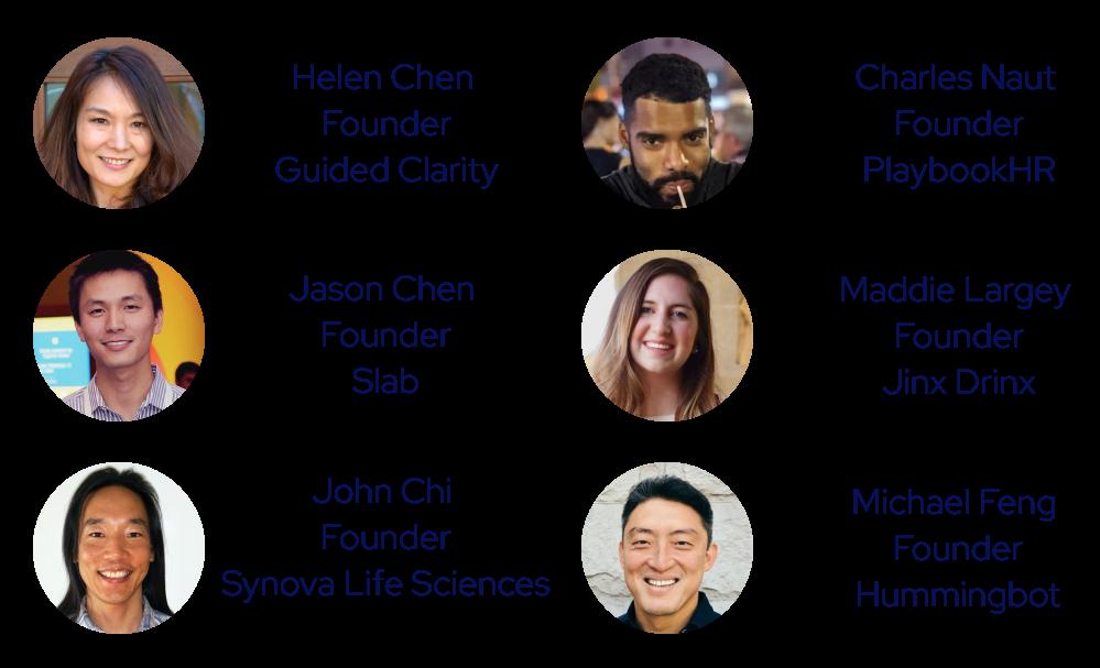 StartX founders in Flow Club