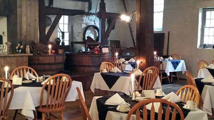 The Mill Room at Swift Creek Mill Theatre