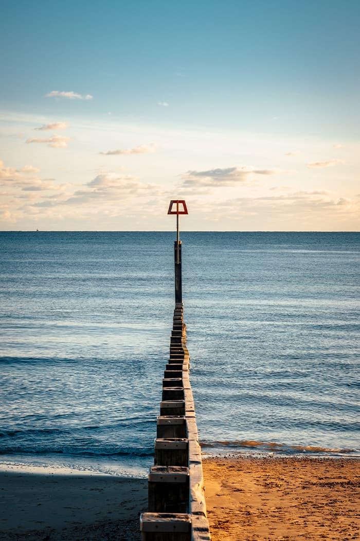 Photo taken on Bournemouth Beach