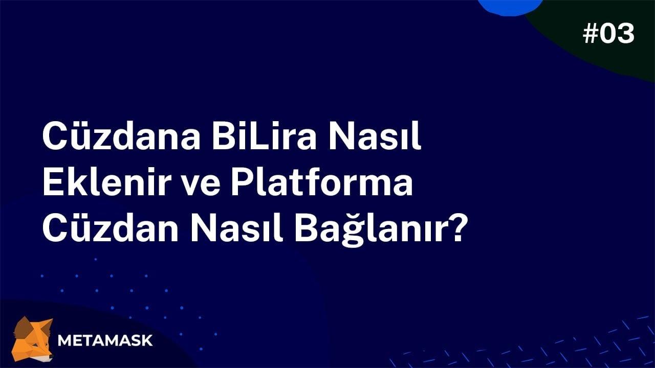 Cüzdana TRYB Nasıl Eklenir ve Platforma Cüzdan Nasıl Bağlanır?