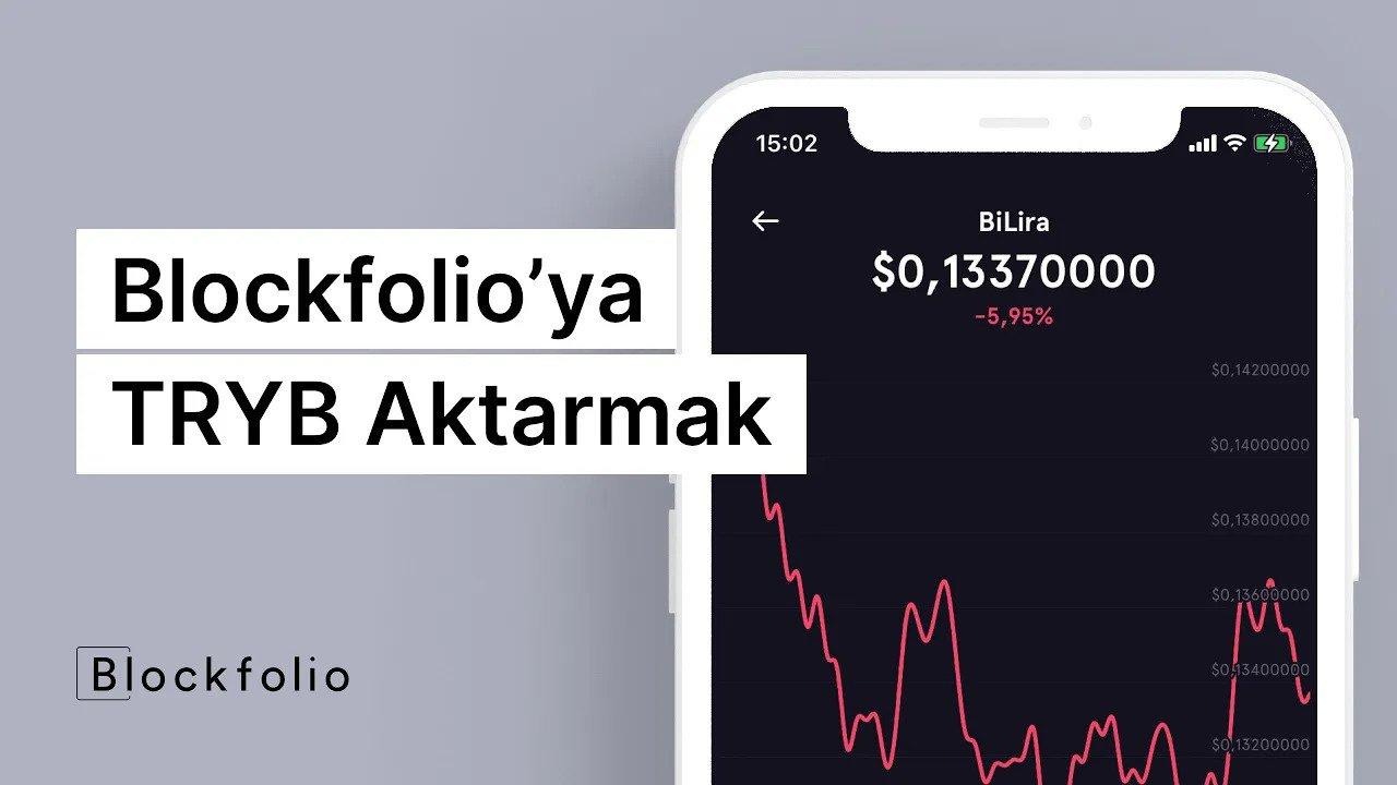 Blockfolio'ya TRYB Aktarmak ve Adım Adım Kripto Para Almak