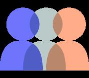 Icon symbolising Bia's commitment to community.