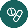 Icon symbolising Bia's approach offering hormone replacement therapy.