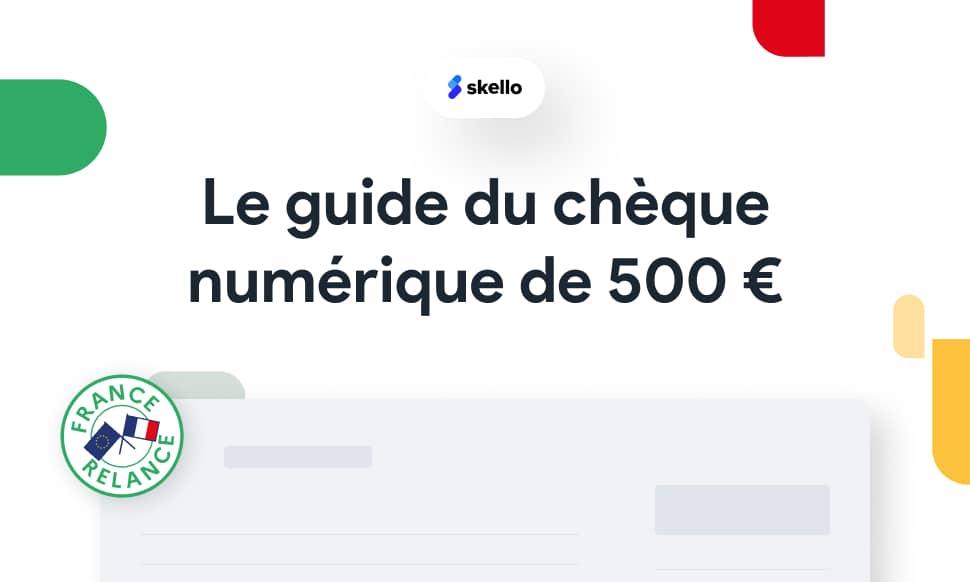Commerçants : comment obtenir le chèque numérique de 500 euros ?