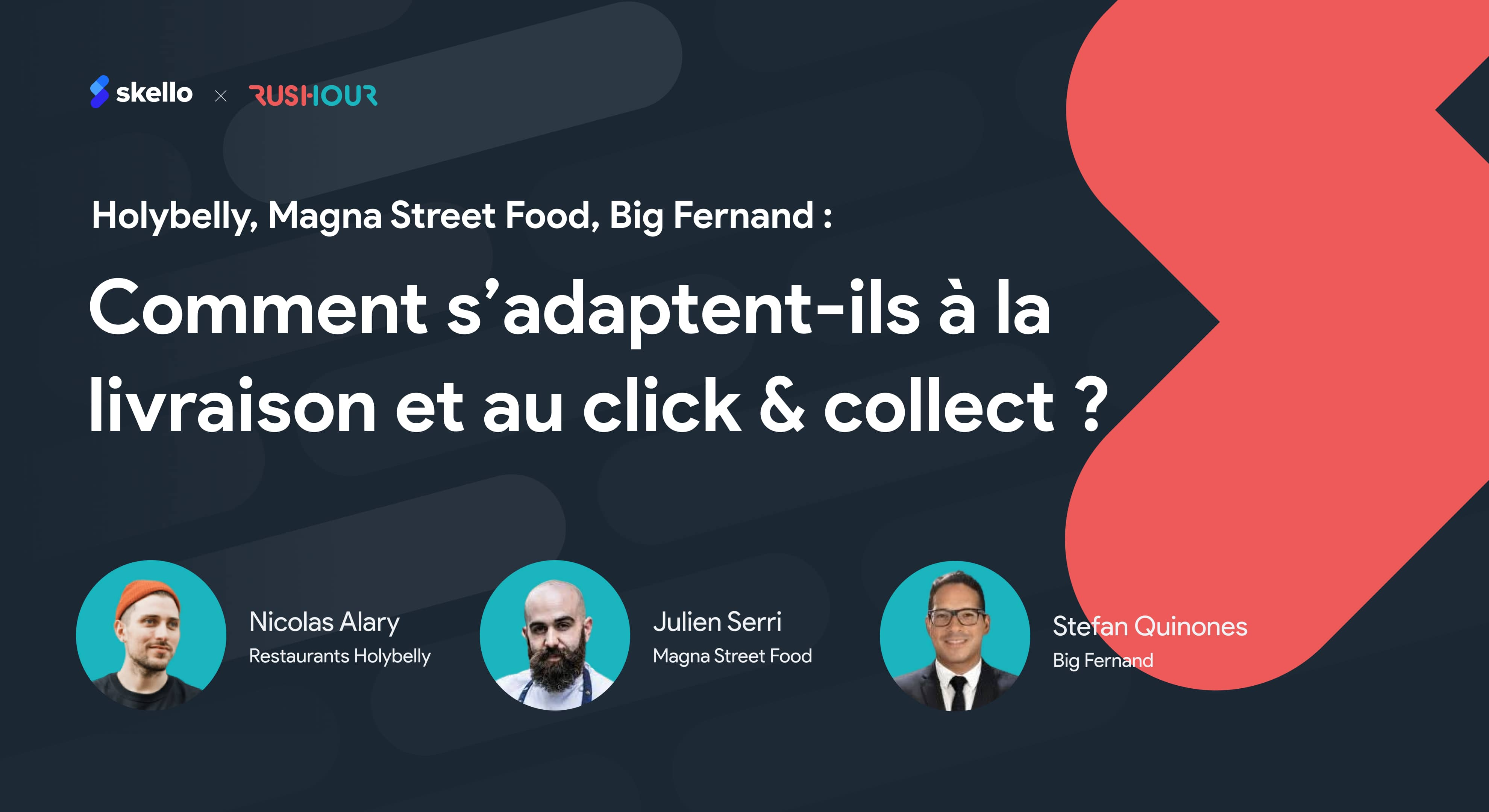 Livraison & Click Collect : comment font Holybelly, Magna Street Food & Big Fernand ?