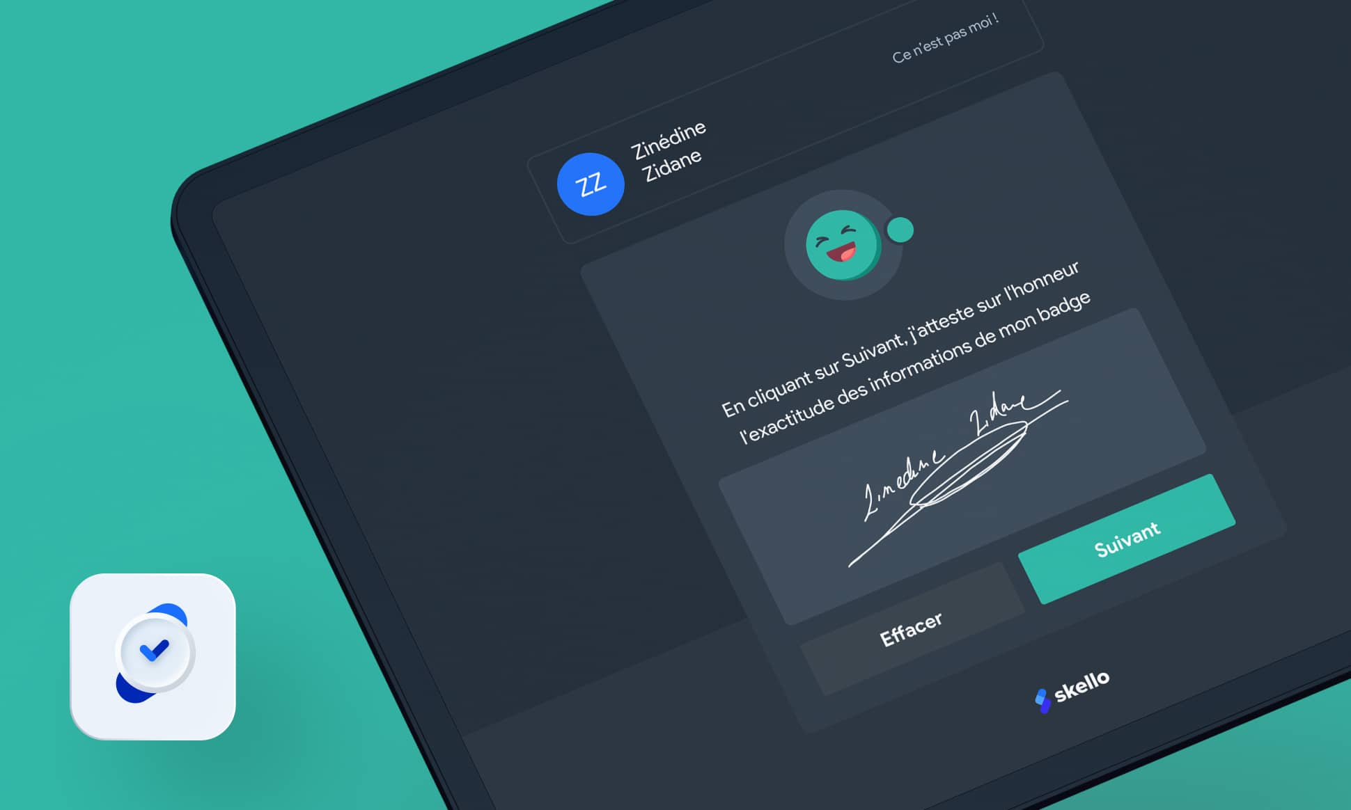La signature sur Badgeuse : fiabilisez les données des heures travaillées !