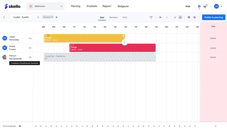 Gagnez du temps : comment enregistrer ses templates de planning ?
