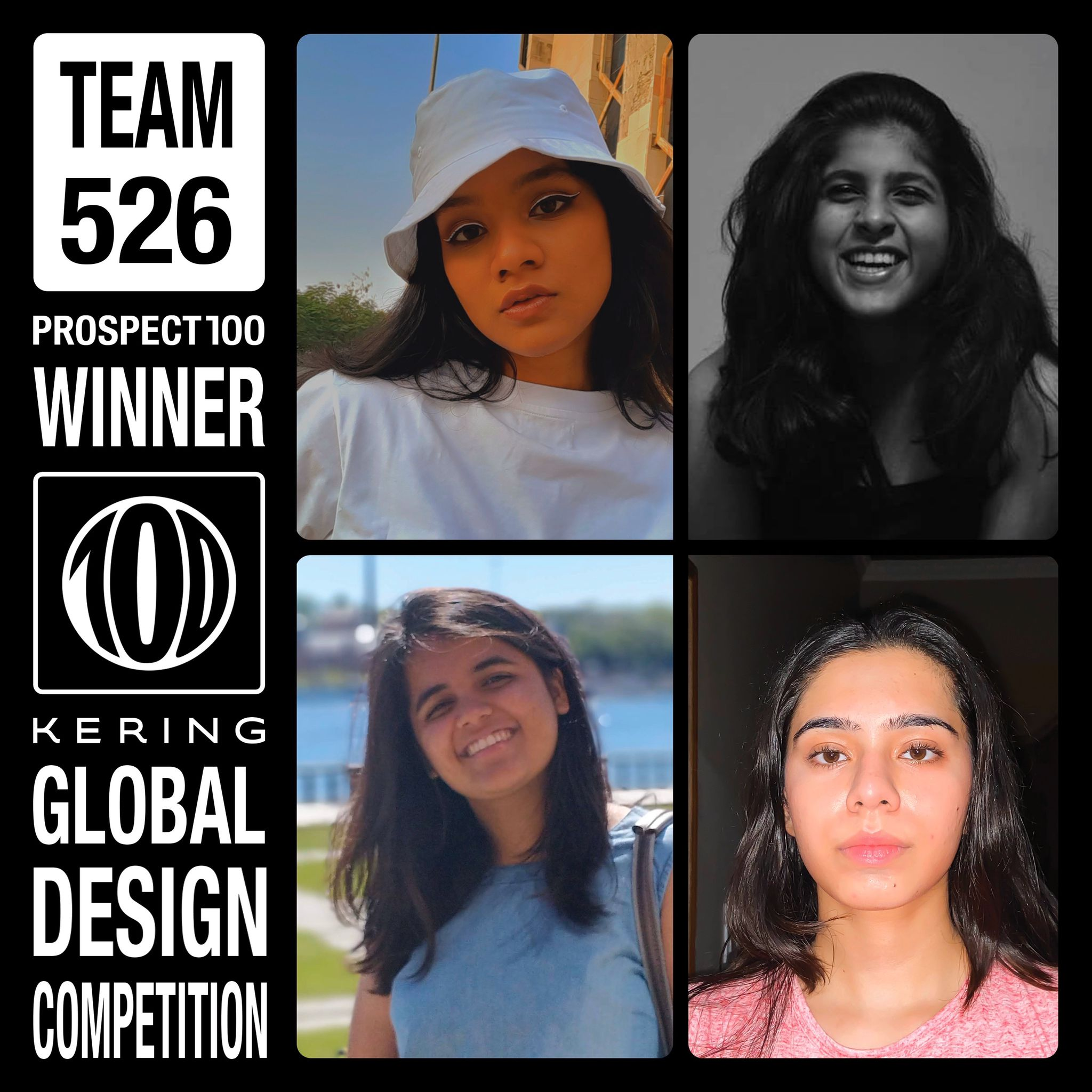 Naazneen Sandhu, Sameeksha Ambolikar, Aadya Chachra, and Samruddhi Mane - THE WINNERS