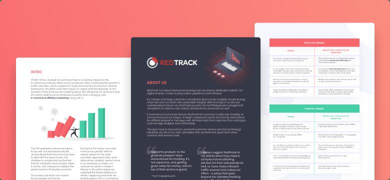 awesomic portfolio graphic design redtrack