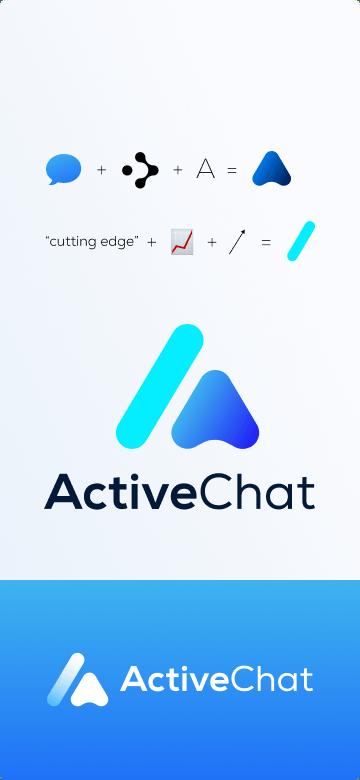 awesomic portfolio logo design activechat