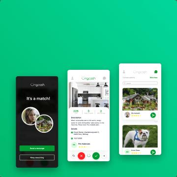 awesomic portfolio ungcash ui ux app design