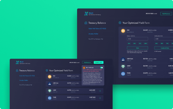 awesomic portfolio web appication design