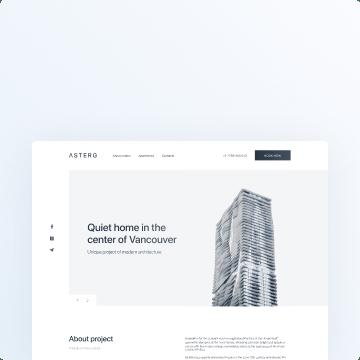 awesomic portfolio webpage design