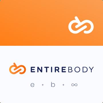 awesomic portfolio logo design entirebody