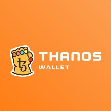 awesomic portfolio logo design thanos wallet
