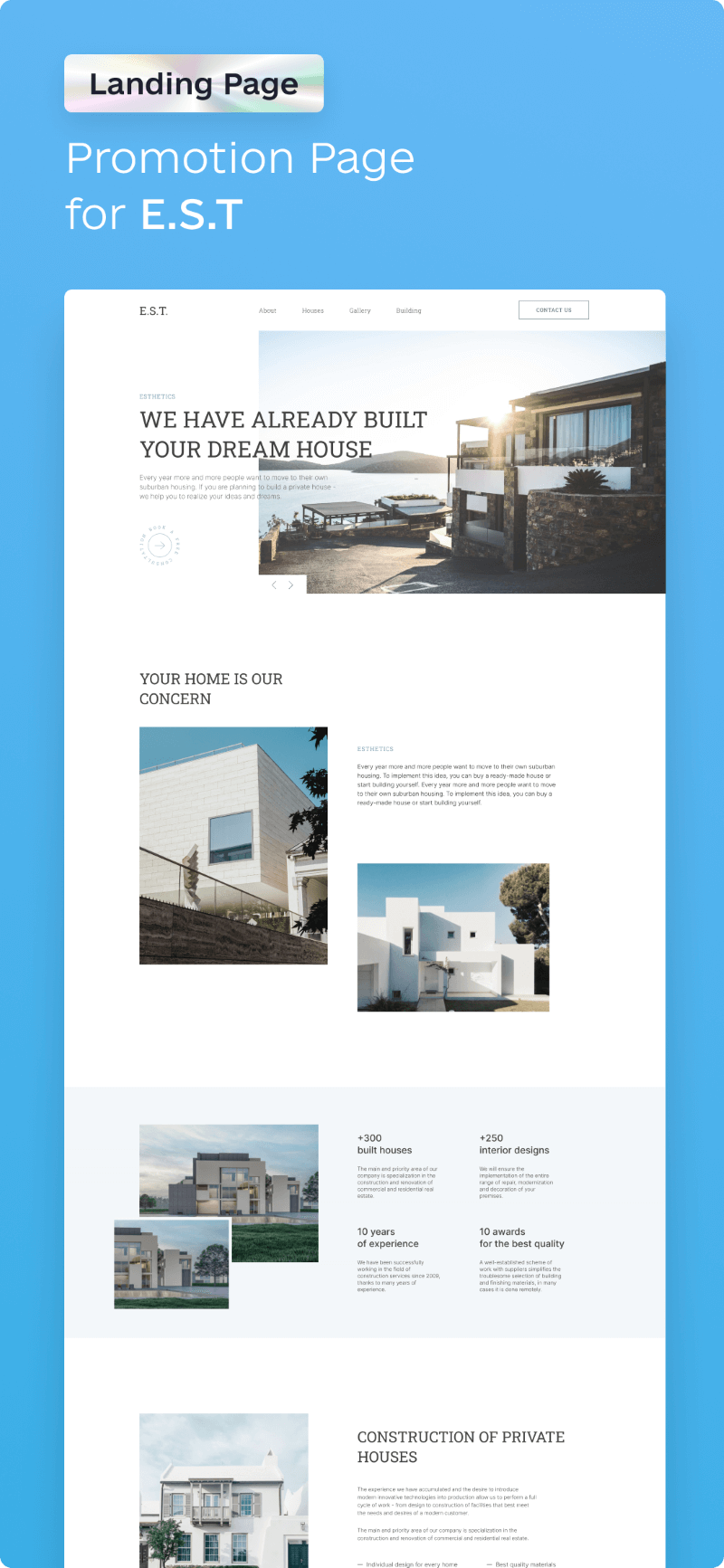 awesomic portfolio website design