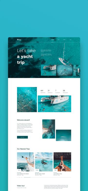 awesomic portfolio web design