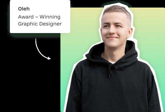 award-winning designer Oleh