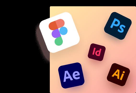 design tools logos