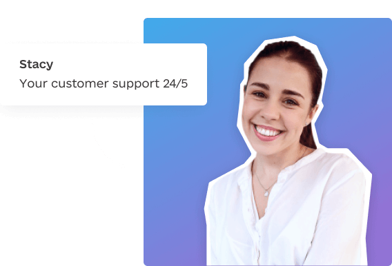 Stacey - Customer success manager at Awesomic