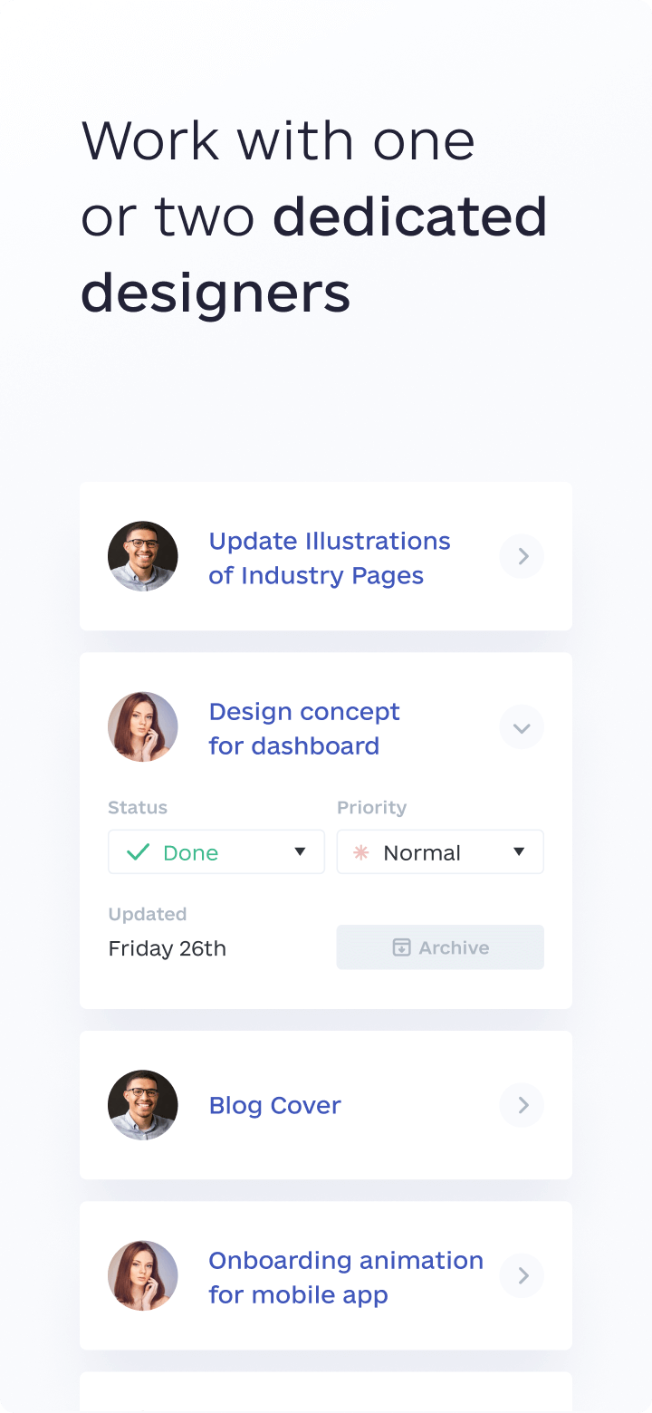 awesomic feature dedicated designers