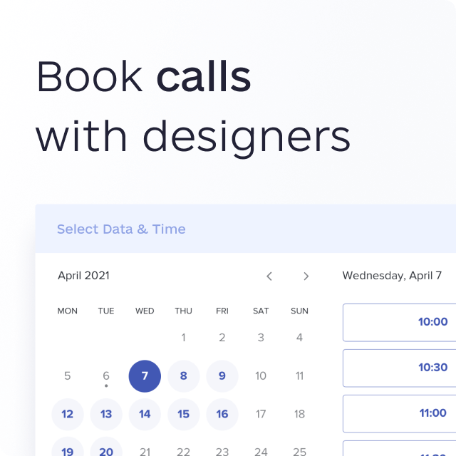 awesomic feature call with designer