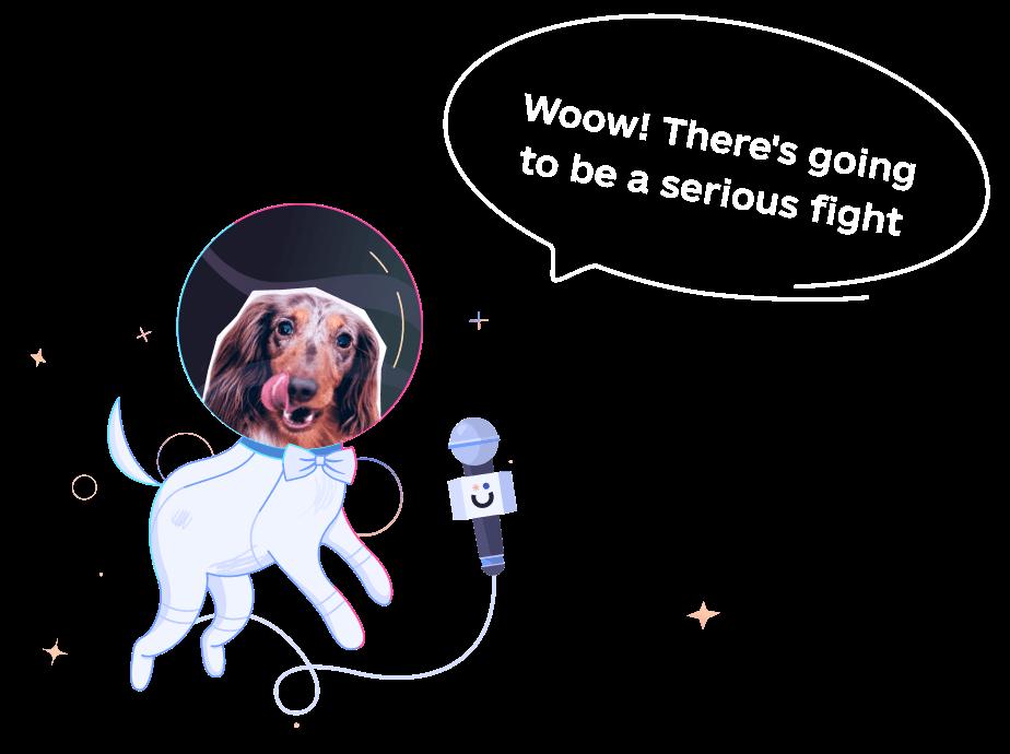 Awesomic dog-atronaut