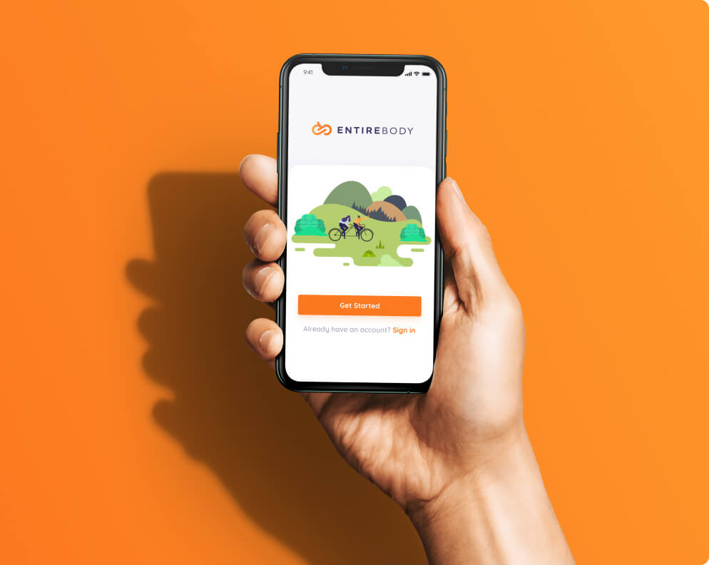 Entirebody mobile app