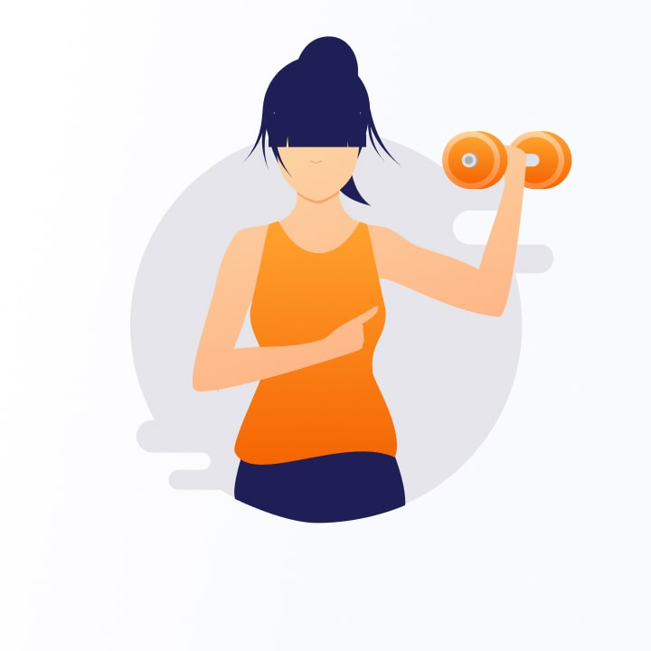 Entirebody icons - exercise