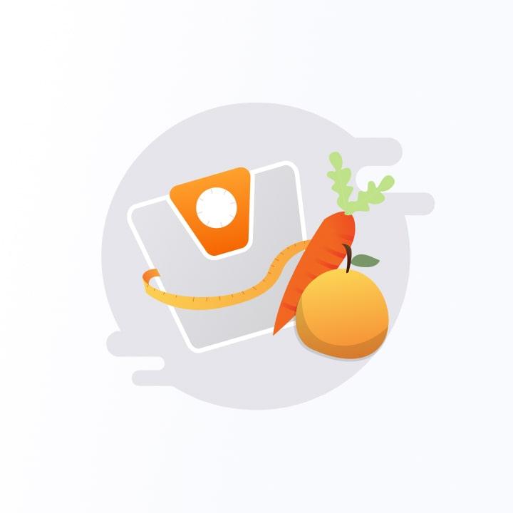 Entirebody icons - nutrition