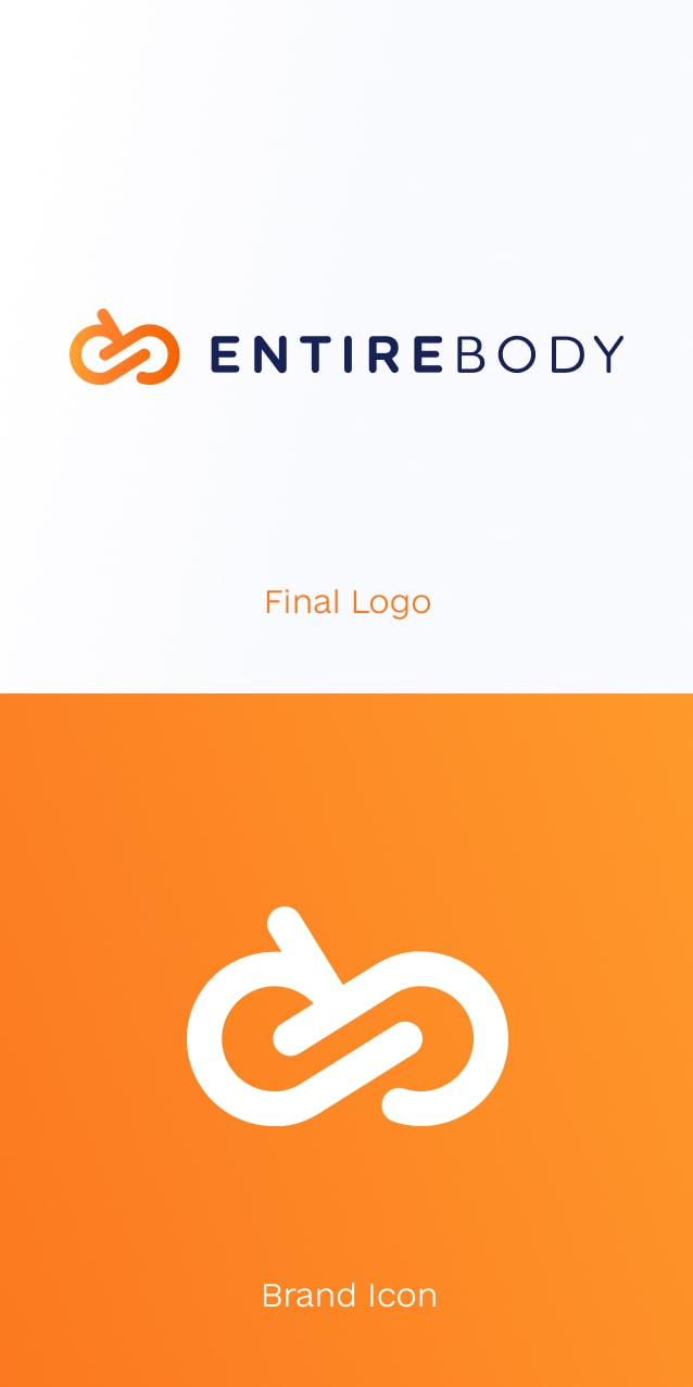 Entirebody logo & icon
