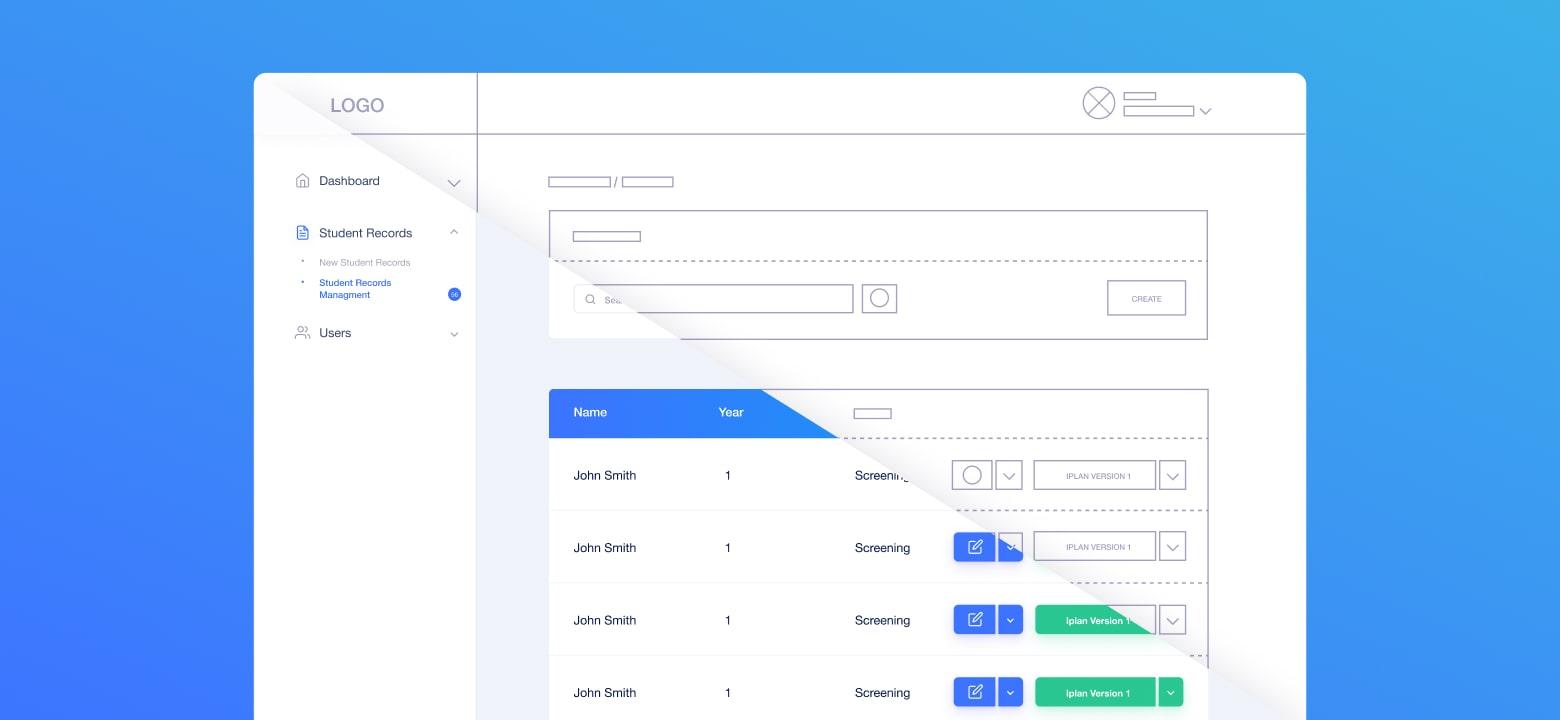 UI frame - hiring UI designer