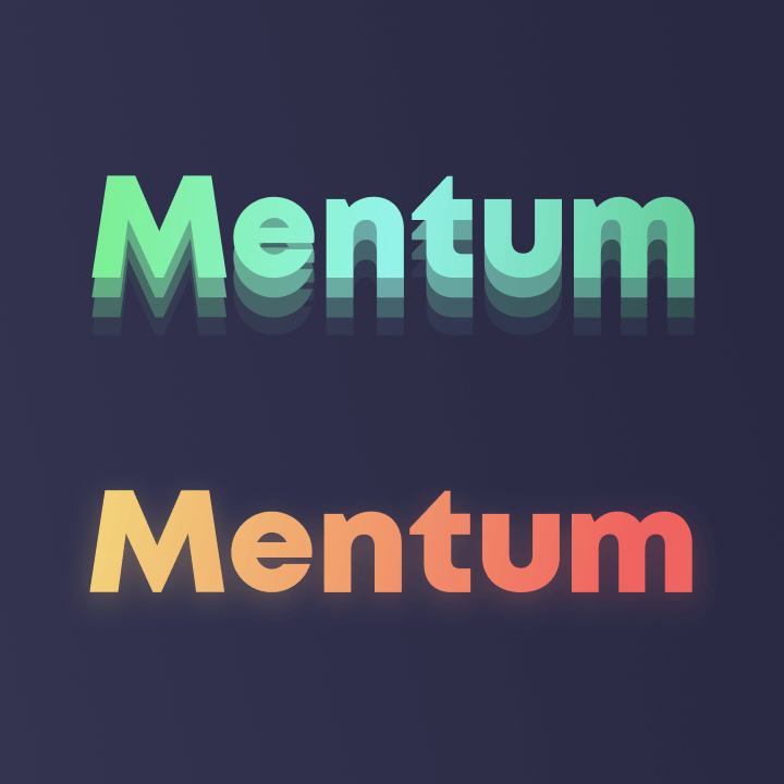 Mentum logo colors variation 2
