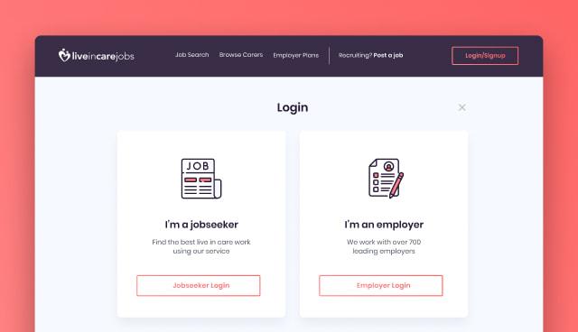 login - live in care jobs case