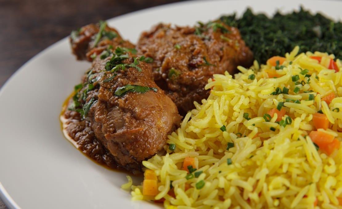 Lamu Coconut Chicken Curry