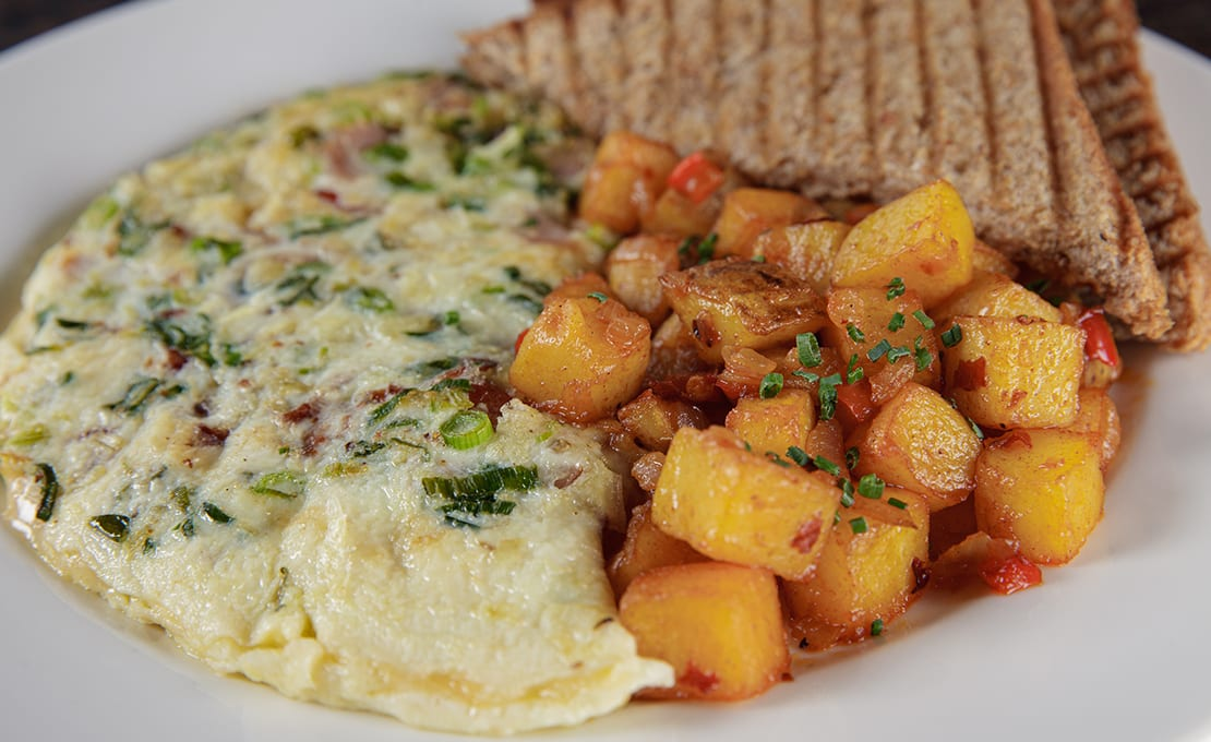 The Whole Hog Omelette