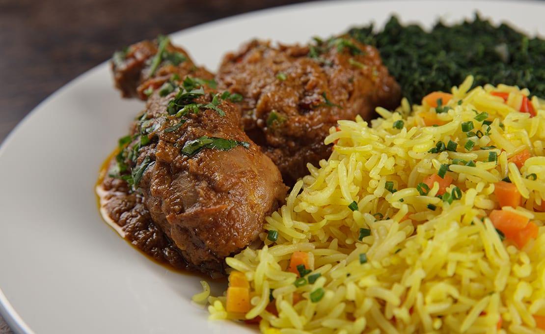 Lamu Coconut Curry