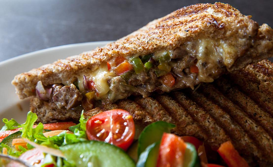 Grilled Steak & Cheese Sandwich