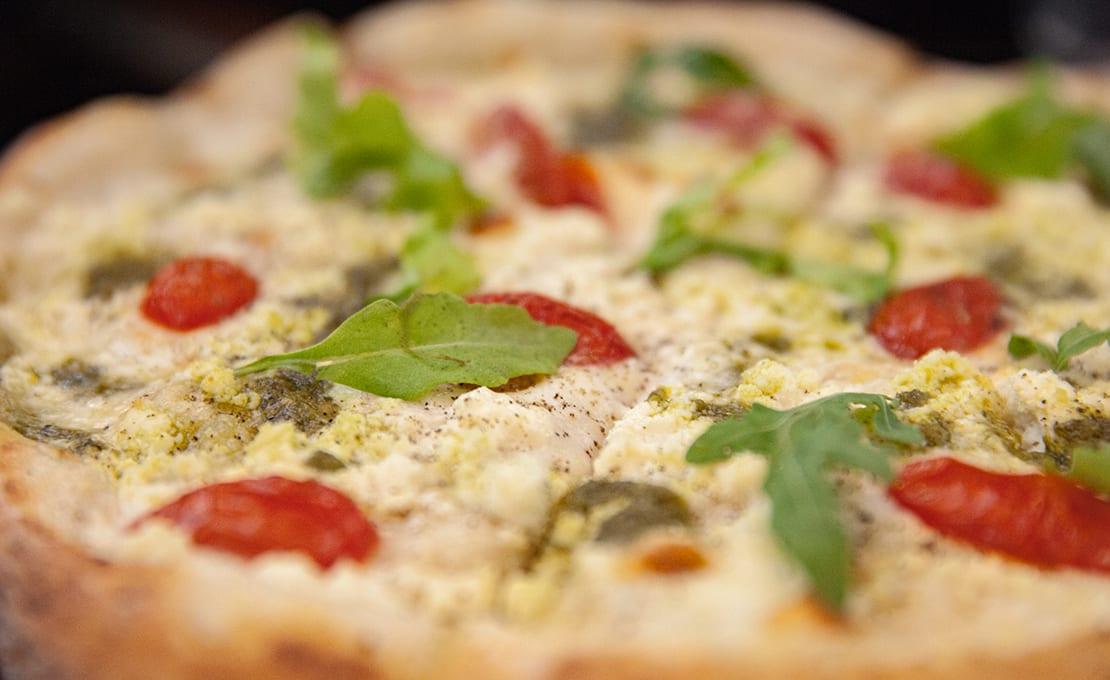 White Pesto Pizza