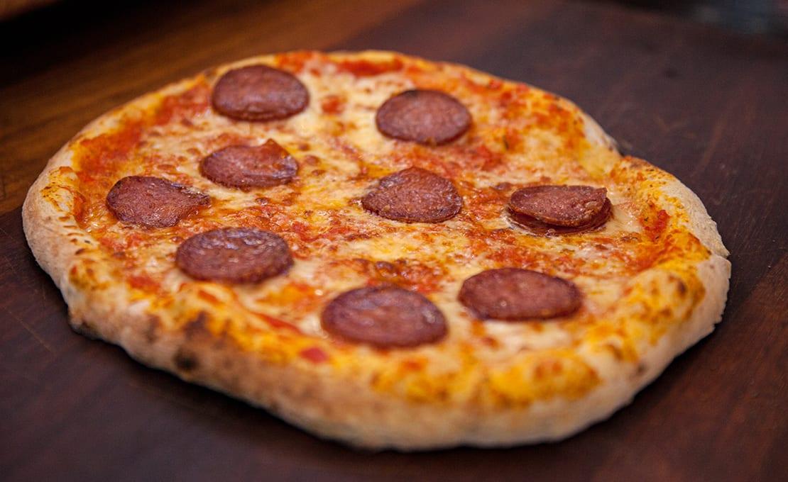 Pancetta and Burrata Pizza