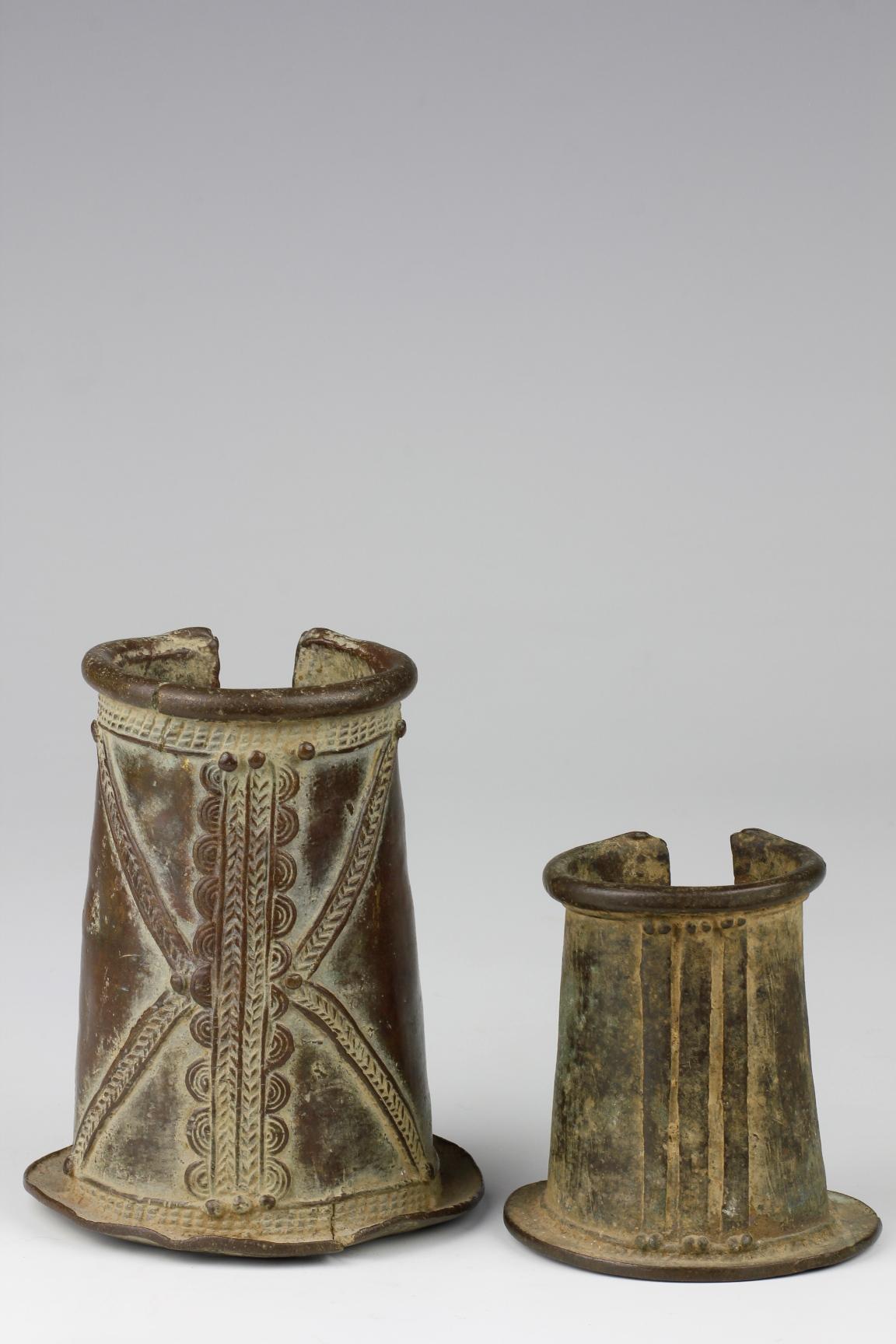 Two Bronze Bangles