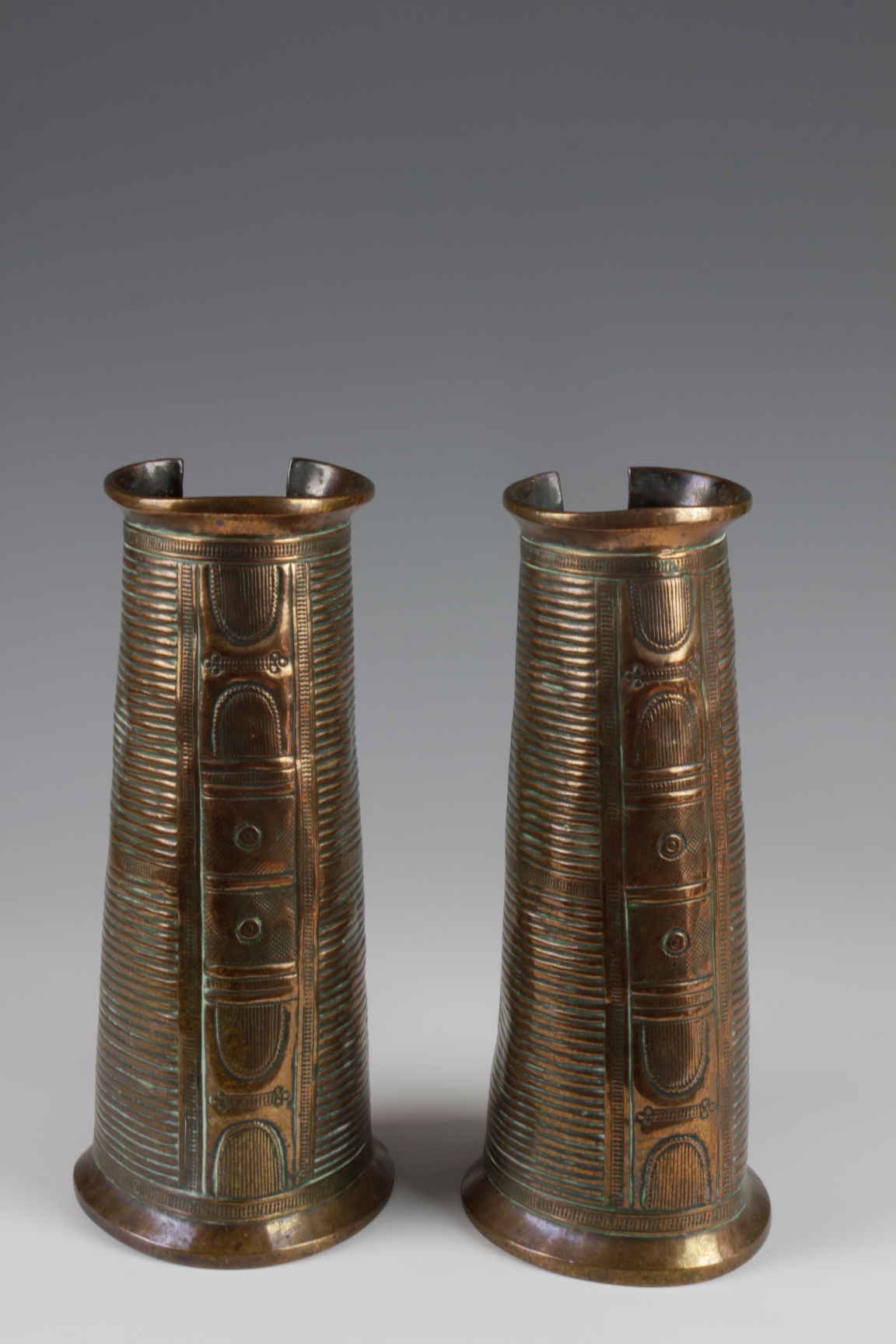 Pair of Copper Cuffs