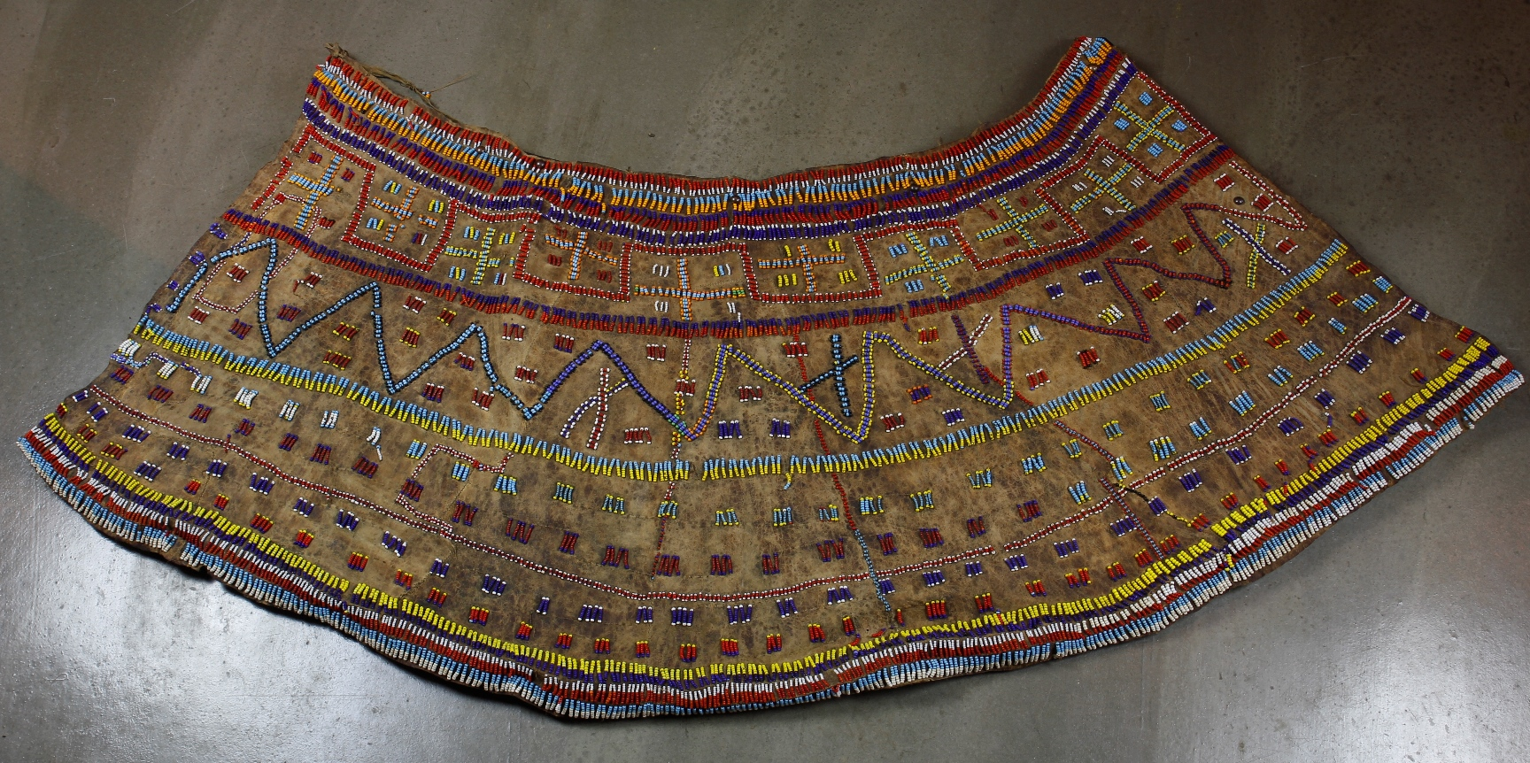 Ceremonial Beaded Skirt