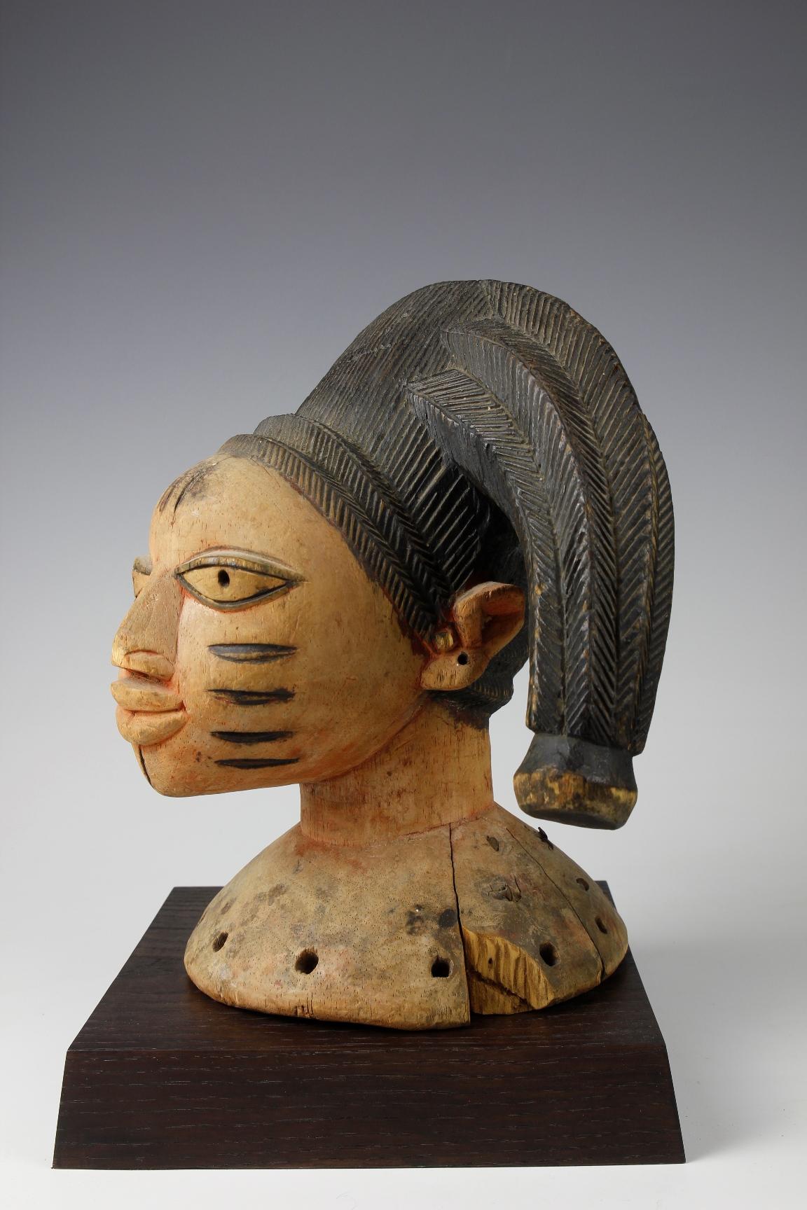 Yoruba Head Crest Mask