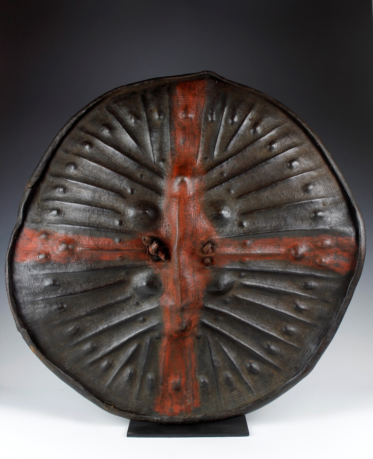 Sidamo Hippopotamus Hide Shield
