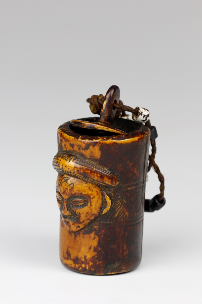 Chokwe Snuff Container