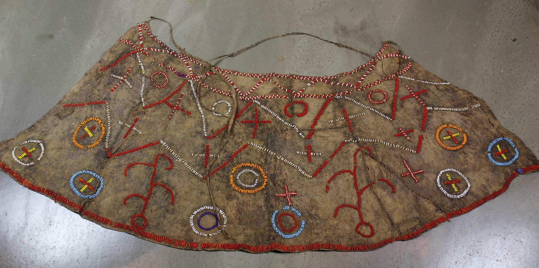 Ceremonial Beaded Skirt