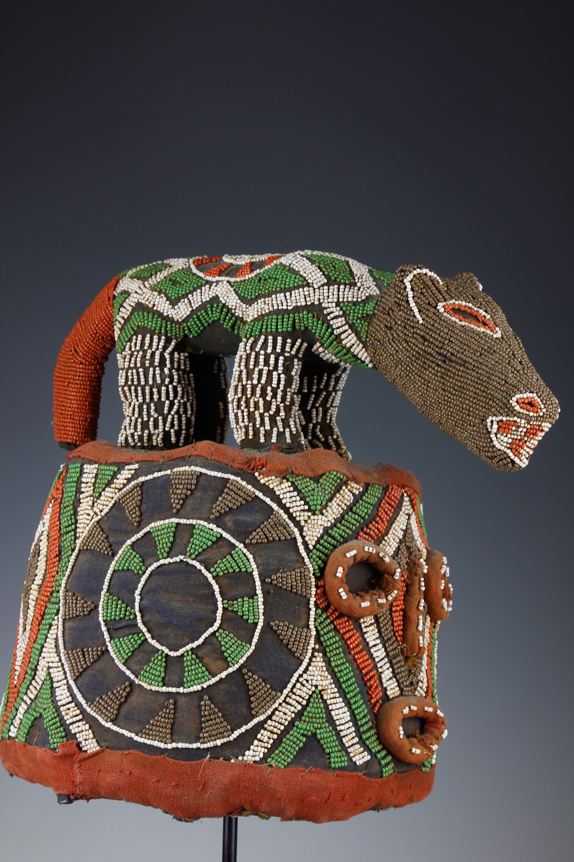 Ceremonial Beaded Hat