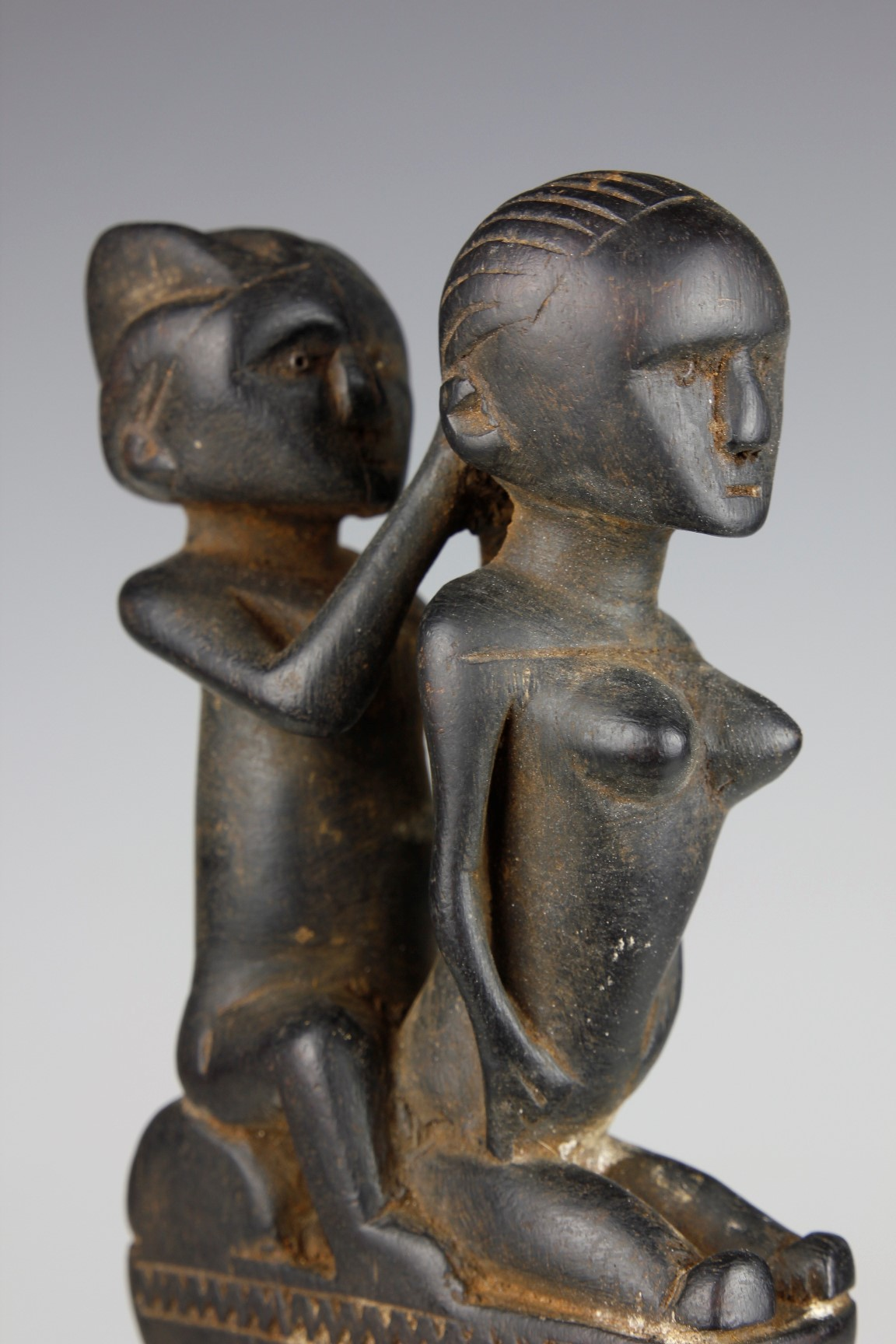 Comb with Two Female Figures