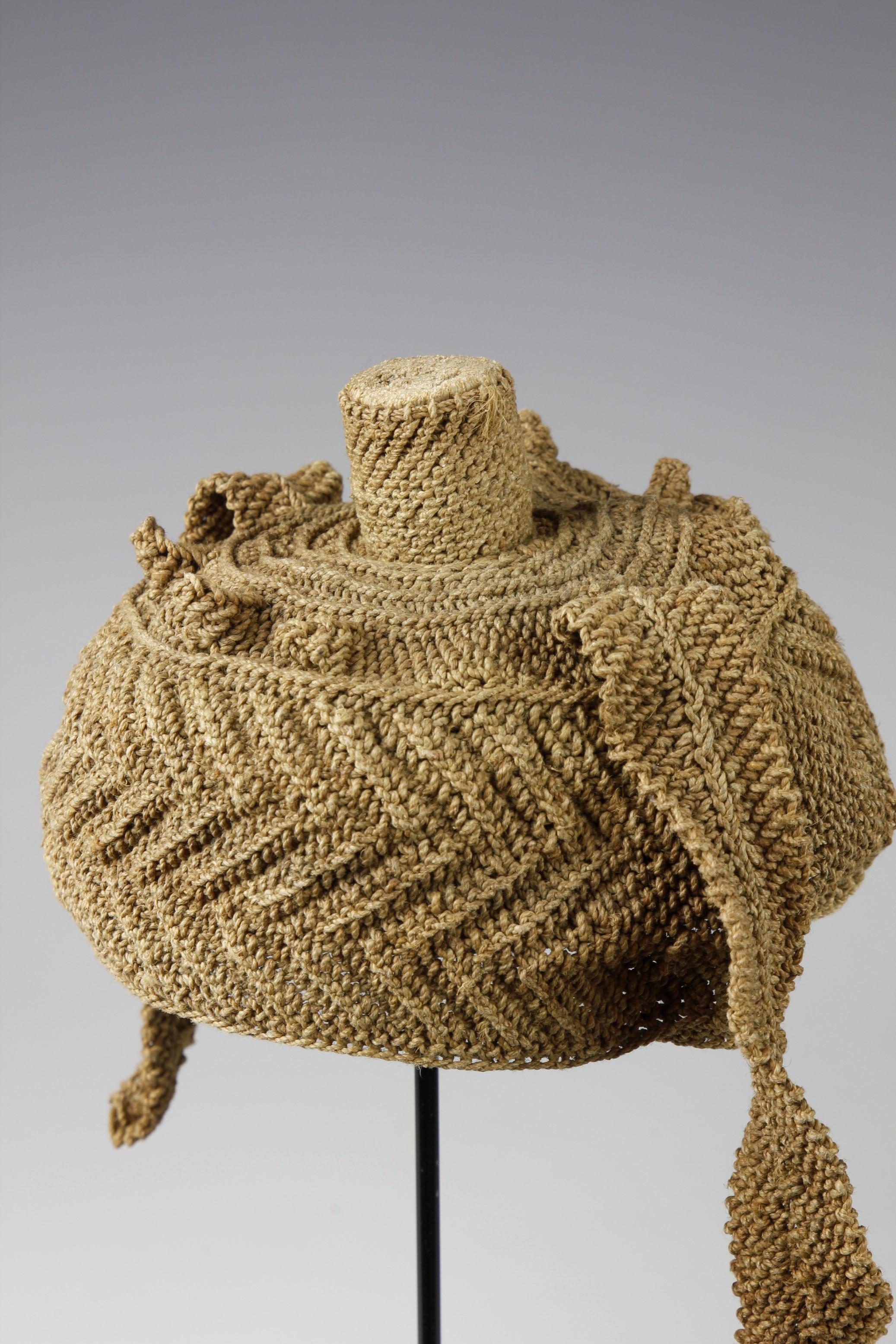RARE WOVEN PALM FIBER prestige hat